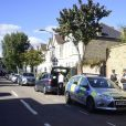 Vue de la maison où a été retrouvée le corps présumé de Sophie Lionnet, suspectée d'avoir été assassinée et brûlée par Sabrina Kouider et Ouissem Medouni. Les deux bourreaux ont été arrêtés par la police et inculpés du meurtre de la nounou de leurs enfants. Londres le 22 septembre 2017.