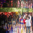 """Le groupe Suprême NTM avec JoeyStarr et Kool Shen - 10ème édition du """"Etam Live Show"""" (Etam Lingerie) lors de la Fashion Week à Paris, France, le 26 septembre 2017. Photo by Rachid Bellak/Bestimage"""