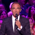 "Nikos Aliagas lors de la finale de ""The Voice Kids 4"" (TF1), samedi 30 septembre 2017."