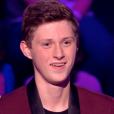 """Antoine lors de la finale de """"The Voice Kids 4"""" (TF1), samedi 30 septembre 2017."""