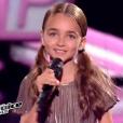 """lors de la finale de """"The Voice Kids 4"""" (TF1), samedi 30 septembre 2017."""