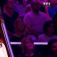 """Jenifer lors de la finale de """"The Voice Kids 4"""" (TF1), samedi 30 septembre 2017."""