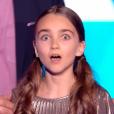 "Angelina sacrée grande gagnante de ""The Voice Kids 4"" (TF1), samedi 30 septembre 2017."