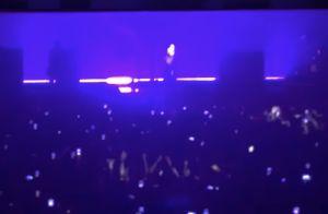 Marilyn Manson blessé en plein concert : Le décor s'effondre sur lui !