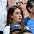 Erika Choperena (Compagne de Antoine Griezmann) lors du match de la finale de l'Euro 2016 Portugal-France au Stade de France à Saint-Denis, France, le 10 juillet 2016. © Cyril Moreau/Bestimage