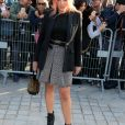 Busy Philipps - Défilé Louis Vuitton, collection printemps-été 2018 à la Pyramide du Louvre. Paris, le 3 octobre 2017. © CVS / Veeren / Bestimage