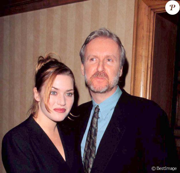 Kate Winslet et James Cameron - Critics Choice Awards en 1998