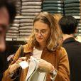 Exclusif -Violette d'Urso lors de la soirée de lancement de la collection Automne-Hiver 2017 UNIQLO U à la boutique Uniqlo à Paris, le 4 octobre 2017. © Denis Guignebourg/Bestimage