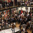 Exclusif - Soirée de lancement de la collection Automne-Hiver 2017 UNIQLO U à la boutique Uniqlo à Paris, le 4 octobre 2017. © Denis Guignebourg/Bestimage