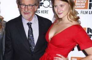 Steven Spielberg : Héros d'un soir entouré de ses beaux enfants et sa femme