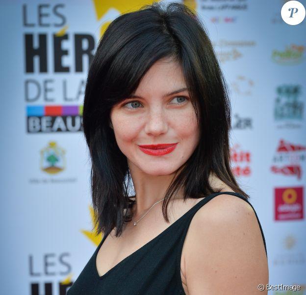Delphine Chanéac - Remise des prix au Festival Les Héros de la Télé à Beausoleil, France, le 8 octobre 2016. © Michael Alesi/Bestimage