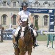 Louise Rochefort - Jour 1 - Jumping International de Chantilly. Le 17 juillet 2015 Chantilly International Jumping.