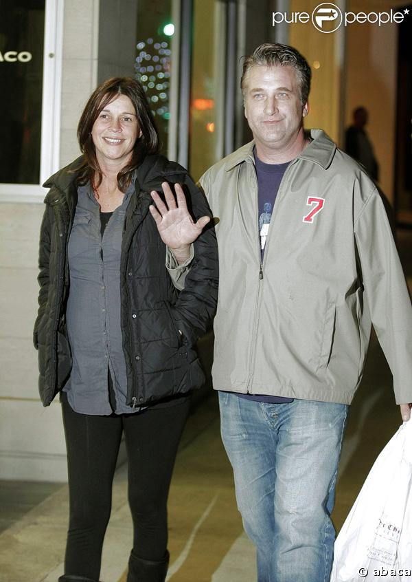 Daniel Baldwin et sa compagne Joanne Smith