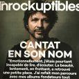 """""""Bertrand Cantat en couverture des Inrockuptibles, le 11 octobre 2017."""""""
