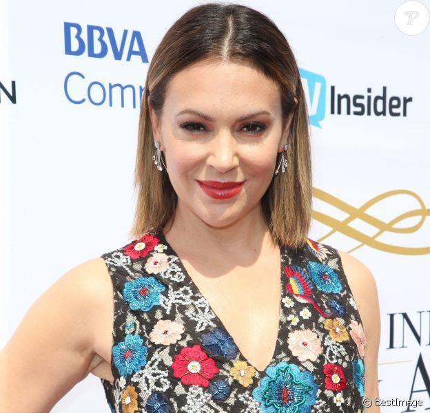 Alyssa Milano à la soirée caritative Television Industry Advocacy Awards à Hollywood, le 16 septembre 2017