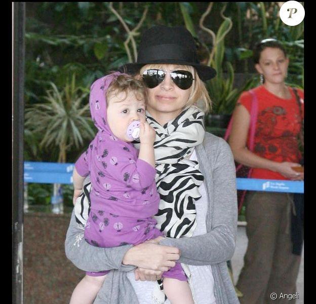 Nicole Richie et sa petite Harlow !