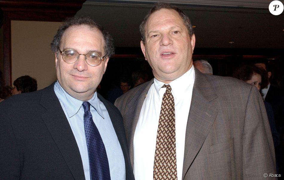 Bob et Harvey Weinstein à Los Angeles en 2003.