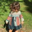 Amel Bent publie une photo de sa fille Sofia, un an et demi, sur Instagram le 19 octobre 2017.