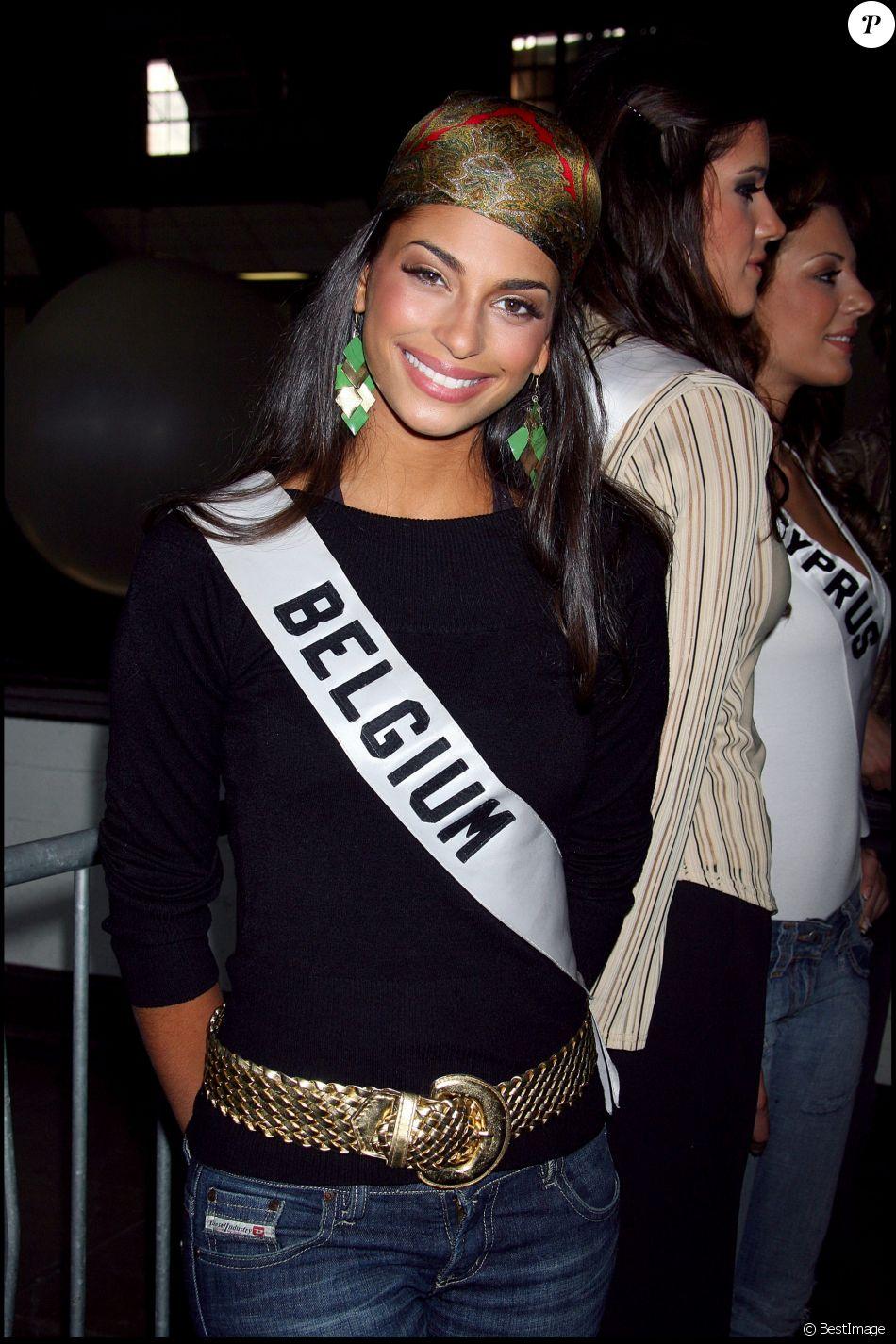 Tatiana silva ex miss belgique lors du concours miss univers 2006 purepeople - Tatiana silva et son compagnon ...