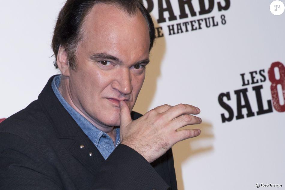 """Quentin Tarantino - Avant-Première du film """"Les 8 Salopards"""" au Grand Rex à Paris le 11 décembre 2015 © Olivier Borde / Bestimage"""
