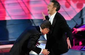 Vincent Cassel se prend un coup de boule, et les Italiens se régalent !