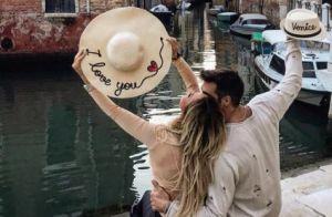 Émilie Nef Naf folle amoureuse de Bruno : Photo love à Venise