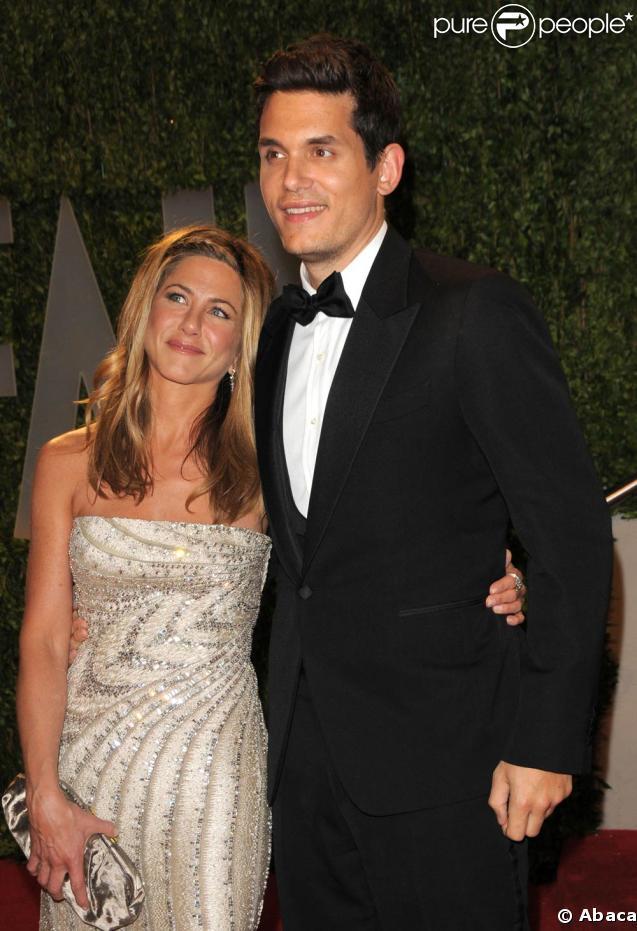 Jennifer Aniston et John Mayer à l'after-party Vanity Fair