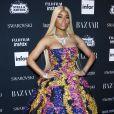Nicki Minaj à la soirée des Harper's Bazaar Icons à New York, le 8 septembre 2017.