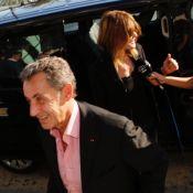 Carla Bruni et Nicolas Sarkozy, couple heureux et radieux à Athènes