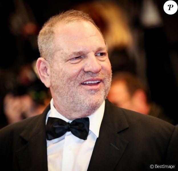 """Harvey Weinstein - Montée des marches du film """"Hands of Stone"""" lors du 69e Festival International du Film de Cannes. Le 16 mai 2016. © Dominique Jacovides- Cyril Moreau/Bestimage"""