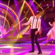 "Camille Lacourt et Hajiba Fahmy - prime de ""Danse avec les stars 8"", 2 novembre 2017, TF1"