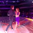 "Agustin Galiana et Candice Pascal - prime de ""Danse avec les stars 8"", jeudi 2 novembre 2017, TF1"