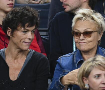 Muriel Robin et Anne Le Nen assistent à la chute de Julien Benneteau