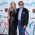 """Margaret Devogelaere et son mari Peter Fonda - Soirée de gala de la fondation """"The Hawn"""" à Los Angeles le 3 novembre 2017."""