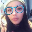 Nabilla Benattia à l'hôpital, Londres, dimanche 5 novembre 2017, Snapchat