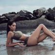 Nabilla divine en bikini aux Etats-Unis, un cliché dévoilé le 26 septembre 2017.