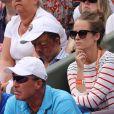 Kim Sears, femme d'Andy Murray dans les tribunes lors des internationaux de France de Roland Garros à Paris, le 30 mai 2017. © Dominique Jacovides - Cyril Moreau/ Bestimage