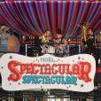 """Beth Ditto - L'auteure-compositrice-interprète américaine B. Ditto donne le coup d'envoi du noël """"Spectacular Spectacular"""" des Galeries Lafayette à Paris, France, le 8 novembre 2017. © Veeren/Bestimage"""