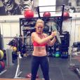 """""""Lindsey Vonn s'entraîne dur en vue des JO de Pyeongchang 2018. Photo Instagram novembre 2017."""""""