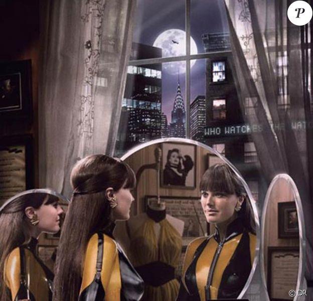 """Malin Akerman dans """"The Watchmen"""""""