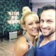 """Élodie Gossuin blessée lors de ses entraînements de """"Danse avec les stars 8"""" (TF1) avec son partenaire Christian Millette."""