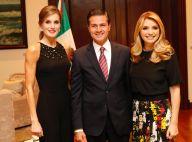 Letizia d'Espagne : Sublime en jumpsuit au Mexique avec le couple présidentiel