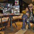 Exclusif - Michel Polnareff fête le 6ème anniversaire de son fils Louka avec sa compagne Danyellah au Domaine de Verchant à Castelnau-le-Lez près de Montpellier le 28 décembre 2016.  © Romain Canot / Bestimage