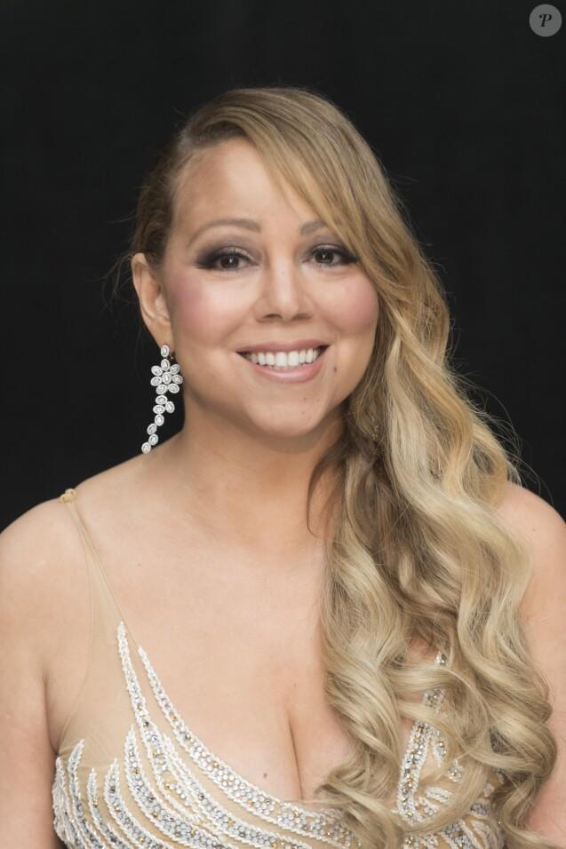 """Mariah Carey en conférence de presse pour le film """"The Star"""" (L'étoile de Noël) à Beverly Hills. Le 29 octobre 2017"""