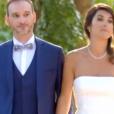 """Marie et Fabien, couple marié de l'émission """"Mariés au premier regard"""" sur M6. Novembre 2017."""