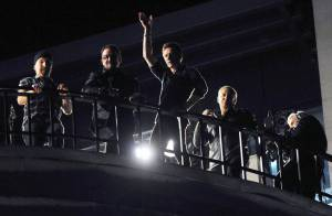 VIDEO : Folie à Londres pour le concert... secret de U2 en direct d'un toit !