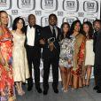 Tempestt Bledsoe, Sabrina LeBeauf, Bill Cosby, Malcolm Jamal Warner, Keshia Knight Pulliam, Phylicia Rashad, Raven Symone et Geoffrey Owens : la famille Huxtable du Cosby Show reformée le 10 avril 2011 lors des TV Land Awards.