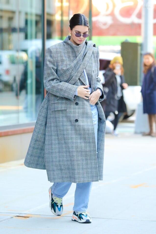 Kendall Jenner à New York, le 20 novembre 2017.