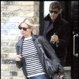 Kate Moss et Jamie Hince. 01/03/09