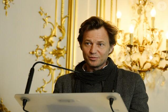 Laurent Delahousse à la conférence de presse de la Flamme Marie Claire à l'hôtel Marois dans les salons France-Amériques à Paris le 14 juin 2016. © Coadic Guirec / Bestimage